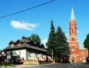 Plebania i kościół